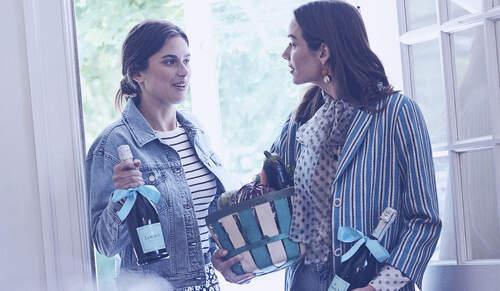 Women toasting with La Marca Prosecco
